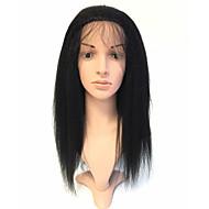 100% vlasy plné vlasy plné krajky s baby vlasy bělené uzly 150% hustota kinky rovný