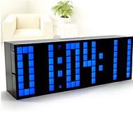 Digital Plastikk Vekkerklokke,LED