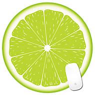 Kreative niedliche Karikatur smiley runde Frucht Maus-Pad Handgelenk Maus-Pad-Set