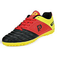 Soccer Shoes All Athletic Shoes Comfort Leatherette All Seasons Athletic Outdoor  Comfort Lace-up Flat Heel Blue Yellow Black White Flat