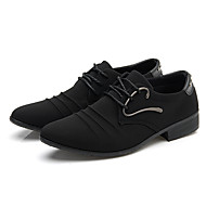 Men's Oxfords Comfort Light Soles Canvas Spring Summer Fall Winter Casual Outdoor Office & Career Walking Comfort Light Soles RivetFlat