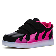 Women's Sneakers Comfort Spring Summer Outdoor Athletic Casual  Magic Tape Flat HeelBlack/Red Black/White Walking Shoes