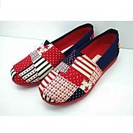 Women's Loafers & Slip-Ons Light Soles Fabric Spring Summer Casual Flat Heel Ruby Flat