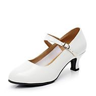 Персонализируемая Для женщин Современный На каблуках Для закрытой площадки Каблуки на заказ Белый 5 - 6,8 см