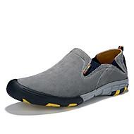 Для мужчин Мокасины и Свитер Удобная обувь Свиная кожа Кожа Весна/осень Все сезоны Атлетический Повседневные Для пешеходного туризма