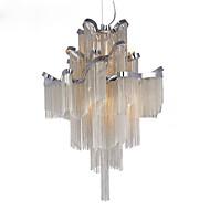 Kattokruunu e12 / e14 / design-riipus valo / hopea&Kulta väri / showroom olohuone kierreportaat portaikko