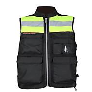 Мотоцикл езда светоотражающие предупреждающие жилеты жилеты униформы дорожная форма флюоресцентная защитная одежда жилет