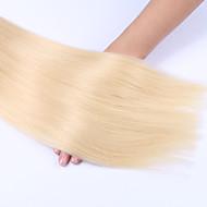 Precolored haar weeft Braziliaans haar Recht 12 maanden 3-delig haarweefsels