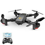Dronă VISUO XS809W 4 Canal 6 Axe Cameră HD 2.0MP O Tastă Pentru întoarcere Headless Mode Zbor De 360 Grade Cu Susul în Jos De Zbor Cameră