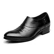Damer Oxfords Formelle sko Læder Forår Efterår Sort 5-7 cm