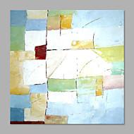 Pictat manual Abstract Abstract Stil modern Un Panou Canava Hang-pictate pictură în ulei For Pagina de decorare