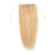 Felcsatolható Human Hair Extensions Hajhosszabbítás