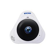 Escam® q8 960p 1.3mp monitor de panoramă cu 360 de grade monitor de ochi de pește wifi ir camera infraroșu ip cu card audio 128gb tf