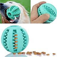 猫用おもちゃ 犬用おもちゃ ペット用おもちゃ ボール型 噛む用おもちゃ インタラクティブ 弾性ある おやつボール 楽しい サッカー 耐久