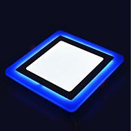 Luminária de Painel Branco Natural Azul LED 1 pç