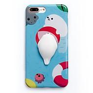 用途 ケース カバー パターン DIY スクイジー バックカバー ケース カートゥン ソフト TPU のために Apple iPhone 7プラス iPhone 7 iPhone 6 Plus iPhone 6s iphone 6