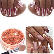 2g Sexy Rose Gold Nail Mirror Powder Nail Glitter Chrome Powder Nail Art Decoration