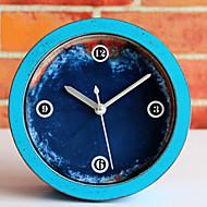 Moderne/Contemporain Horloge murale,Rond Nouveauté Intérieur Horloge