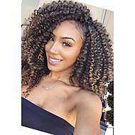 Pre-loop kukičanje Pletenice Havana Heklati Kovrčav cubic Twist odskočiti Curl Otok Twist Jamaican Bounce Hair Synthetic HairCrno /