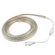 15W フレキシブルLEDライトストリップ 1200 lm AC220 V 1 m 60 LEDの ウォームホワイト ホワイト レッド イエロー ブルー グリーン
