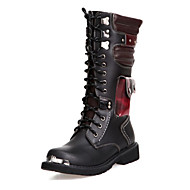 Men's Boots Comfort Novelty Fashion Boots Combat Boots Synthetic Microfiber PU Fall Winter Casual Outdoor Office & Career Party & Evening