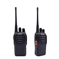 2 kpl radiopuhelinta baofeng bf-888s 16ch uhf 400-470mhz baofeng 888s kello radio hf lähetin amador kannettava