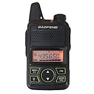 Baofeng bf t1 mini walkie talkie ultra ohut mikro-ajo 400-470mhz baofeng hotelli siviili radio wkie talkie 20 kanavaa