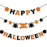 Halloween koristeluun riipus kolmiulotteinen kurpitsan paperi lyhdyt rekvisiitta aave festivaali tarvikkeet hauntattiin talon baareja