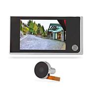 Video eletrônico digital porta da porta porta aguarela aguarela longa espera 120 graus de grande angular