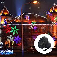 Führte Schneeflocke 6w Outdoor Rasen Schneeflocke Lampe ac100 240v natürlichen weißen rot blau grün