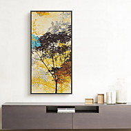 Abstrait Peinture à l'huile encadrée Art mural,Bois Matériel Avec Cadre For Décoration d'intérieur Cadre Art Salle de séjour Salle à