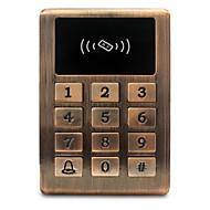 Metal impermeável id controle de acesso controle de acesso leitor de cartão cartão de crédito controle de controle de controle botão de