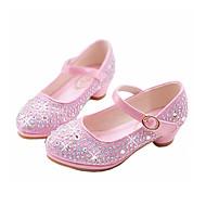 Fille Ballerines Confort Nouveauté Chaussures de Demoiselle d'Honneur Fille Automne Hiver PU de microfibre synthétique Décontracté Habillé
