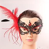 Euroopan ja american tyylin tyylikäs nainen musta pitsi perhonen cryastal tupsu naamio naispuolinen puku puolue ilta puoli lohko maski