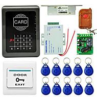 Mjpt001 sistema de controle de acesso de porta única senha de cartão de pacote com um cartão de controle remoto cartão de identificação do