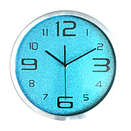 Модерн Повседневный Семья Настенные часы,Круглый Стекло Применение В помещении На открытом воздухе Часы