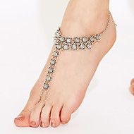 Women's Anklet/Bracelet Gold Plated Alloy Unique Design Sexy European Fashion Simple Style Vintage Punk Costume Jewelry Jewelry Jewelry