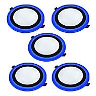 Lampes Panneau Blanc Froid Bleu LED 5 pièces
