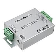 Hkv® 1pcs led rgb versterker 12a led controller dc 12-24v voor led strip lights