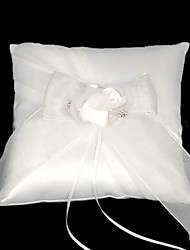 Enchanting Moments Wedding Ring Pillow In Satin