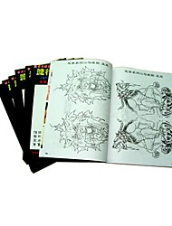 10 Tattoo Pattern Pictures Books  Set