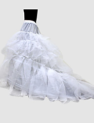 Nylon Ball Gown Chapel Train 1 Tier Floor-length Slip Style/ Wedding Petticoats