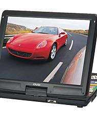 Lecteur dvd portable 15 pouces avec fonction TV, port USB, 3-en-1 lecteur de cartes, jeux, cadre photo numérique et écran LCD d'ordinateur (smqc171)