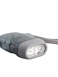 3-LED Dynamo Battery-free Flashlight
