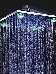 12 inch Color Changing LED Shower Head with 4 LED Lights