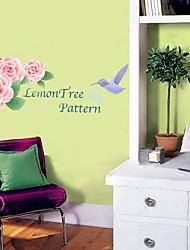 Цветок, настенные стикеры