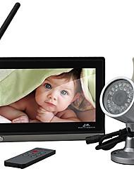 7-Zoll- Baby- Monitor (1 Kabellose Nachtsicht-Kamera + Fernbedienung)