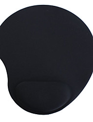 Foam Mouse Pad + Wrist Rest (Black)