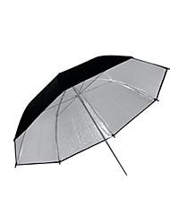 """43"""" Pro Studio Silver & Black Double layer Reflective Umbrella (CCA287)"""