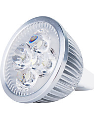 4W GU5.3(MR16) LED Spotlight MR16 4 High Power LED 360 lm Warm White DC 12 V
